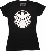 SHIELD Hydra Takeover Glow Juniors T-Shirt