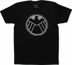 SHIELD Logo JOAT T-Shirt Sheer