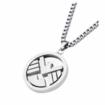 SHIELD Logo Stainless Steel Necklace