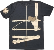 SHIELD Nick Fury Suit T Shirt Sheer