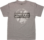 SHIELD Stamped Logo T Shirt