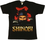 Shinobi Warrior T Shirt Sheer