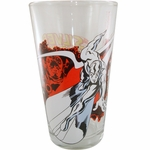Silver Surfer Galactus Glass