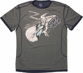 Silver Surfer Riding Mesh T Shirt