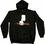 Simpsons Bart Youth Hoodie