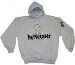 Simpsons Represent Hoodies