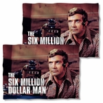 Six Million Dollar Man Steve Austin FB Pillow Case