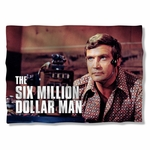 Six Million Dollar Man Steve Austin Pillow Case