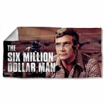 Six Million Dollar Man Steve Austin Towel