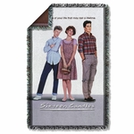 Sixteen Candles Poster Throw Blanket