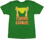 Sixteen Candles Underpants T Shirt Sheer