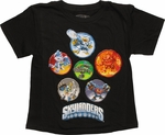 Skylanders Giants Circle Cast Juvenile T-Shirt