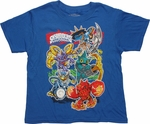 Skylanders Giants Gang Juvenile T-Shirt