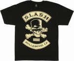 Slash Biker Patches T Shirt