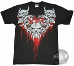 Slayer Horned Skulls T-Shirt