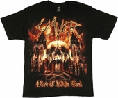 Slayer Not of This God T Shirt