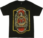 Slayer Schwarzbier Label T Shirt