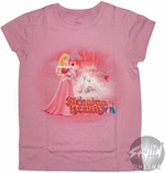 Sleeping Beauty Rose Youth T-Shirt