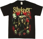 Slipknot Group T Shirt