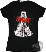 Slipknot Skeleton Music Baby Tee