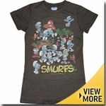 Smurfs Junk Food Girls Shirt