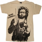 SNL More Cowbell T-Shirt Sheer