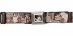 Snow White Movie Scenes Seatbelt Mesh Belt