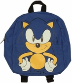 Sonic the Hedgehog Face Kids Backpack