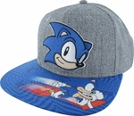 Sonic the Hedgehog Face Sublimated Bill Hat