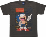 Sonic the Hedgehog Game Over Youth T Shirt