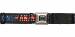 Sons of Anarchy American Flag Name Seatbelt Belt