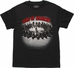 Sons of Anarchy Biker Ring Photo T Shirt