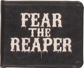Sons of Anarchy Fear the Reaper Skulls Wallet