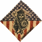 Sons of Anarchy Flag Black Reaper Bandana