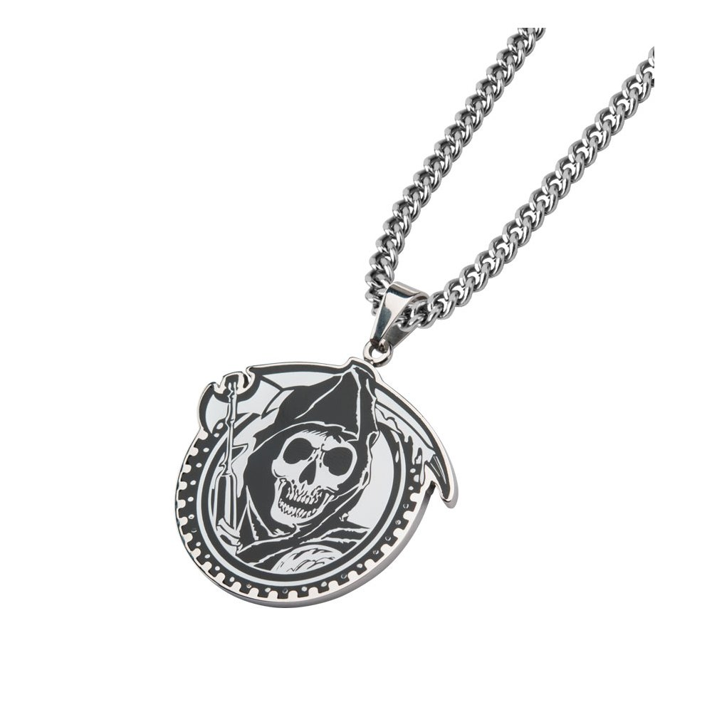 sons of anarchy gear reaper necklace