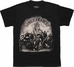 Sons of Anarchy Group Photo T Shirt