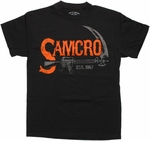 Sons of Anarchy Orange SAMCRO Rifle T Shirt