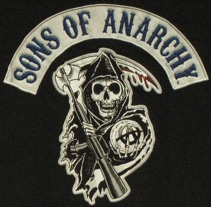 Anarchy Logo t Shirts t Shirt Sons of Anarchy