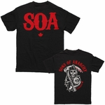 Sons of Anarchy Reaper Canada T Shirt