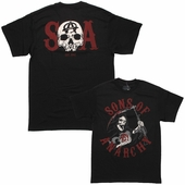 Sons of Anarchy Reaper Charge SOA T Shirt