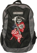 Sons of Anarchy Reaper Flag Backpack
