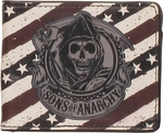 Sons of Anarchy Reaper Flag Wallet
