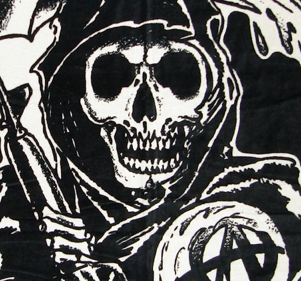 Sons of Anarchy Reaper Towel Sons Of Anarchy Reaper