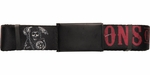 Sons of Anarchy Red Name Logo Mesh Belt
