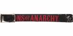 Sons of Anarchy Red Title and Logo Mesh Belt