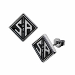 Sons of Anarchy S of A Stud Earrings