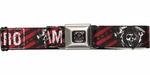 Sons of Anarchy SAMCRO and Logo Stripes Seatbelt Mesh Belt