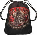 Sons of Anarchy SAMCRO Drawstring Backpack