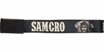 Sons of Anarchy SAMCRO Fear the Reaper Wide Mesh Belt