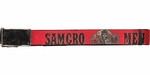 Sons of Anarchy SAMCRO Men of Mayhem Red Mesh Belt